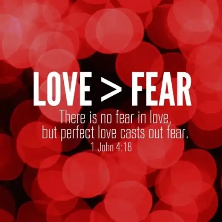 QUESTION OF THE DAY: If God is love, why are we told to fear Him?