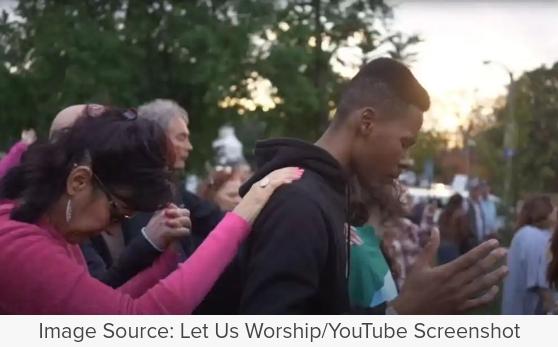 "Hundreds Encounter Christ during ""Let Us Worship"" revival tour led"