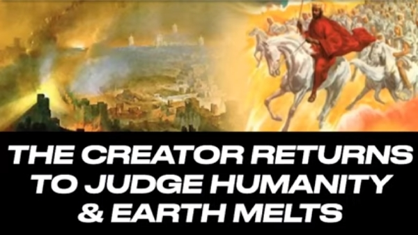 THE DAY OF THE LORD: When The Creator Returns And Earth Melts
